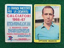 CALCIATORI 1966/67 66/1967 NAPOLI Ottavio BIANCHI Figurina Sticker Panini (NEW b