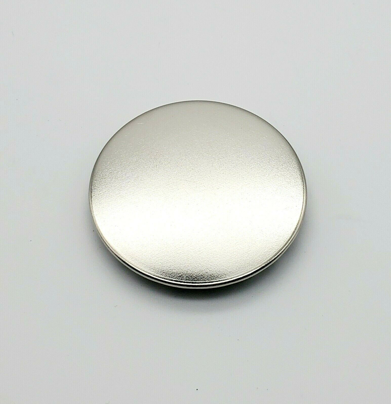 """Bright Nickel Plated Hole Plugs 1 1//4"""" Snap-in Panel Plugs Various Pack Sizes"""
