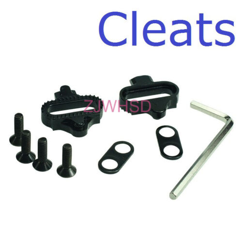 SPD Clipless Pedal Cleats for Shimano SM-SH 51 Mountain Bicycle Replacement Set