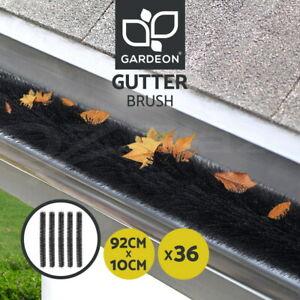 Gardeon 36 Pcs Gutter Brush Guard 92X10cm Length Leaf Twigs Filter Garden Patio