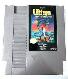 Ultima Quest of the Avatar ORIGINAL NES Nintendo Game TESTED Working & AUTHENTIC