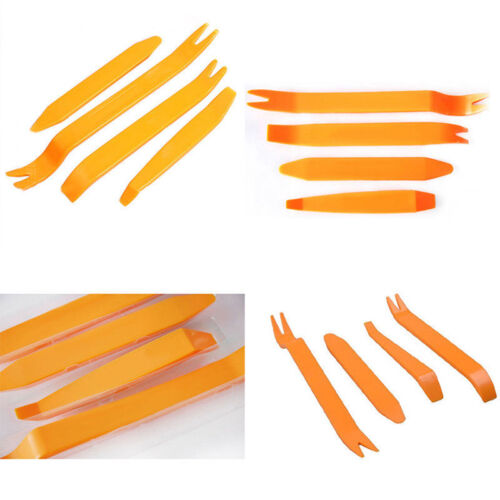 4x Car Installer Plastic Removal Pry Tool Kit For Panel Dash Stereo Radio