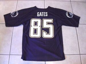 Los Angeles Chargers Antonio Gates  85 Football Jersey (Medium) NFL ... d532cb21e