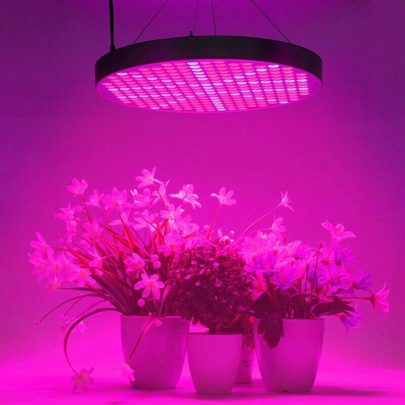 Image 1 - 250LED-50W-UFO-Grow-Light-Full-Spectrum-Veg-Flower-Indoor-Plant-Lamp-Panel
