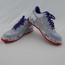 Mens 2007 Nike Air Force 1 Premium '07 BLUE DENIM PURPLE