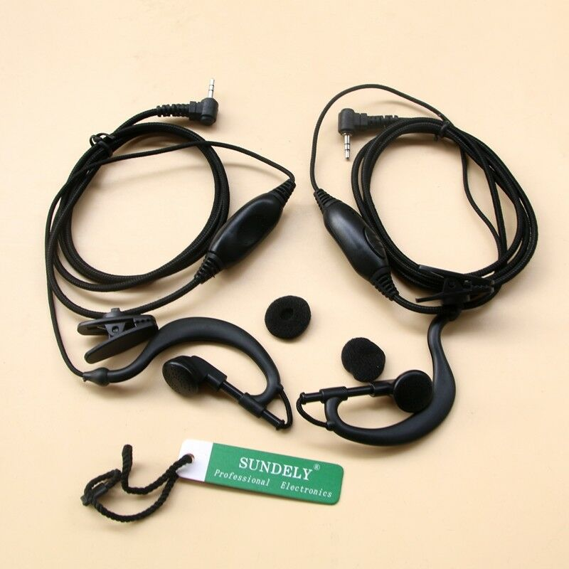 VOX Throat Mic Headset//Earpiece For Uniden Radio GMR1838 GMR2240 GMR2638 GMR2838