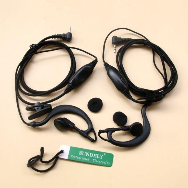 Headset//Earpiece//Headphone for Cobra 2//Two Way Radios