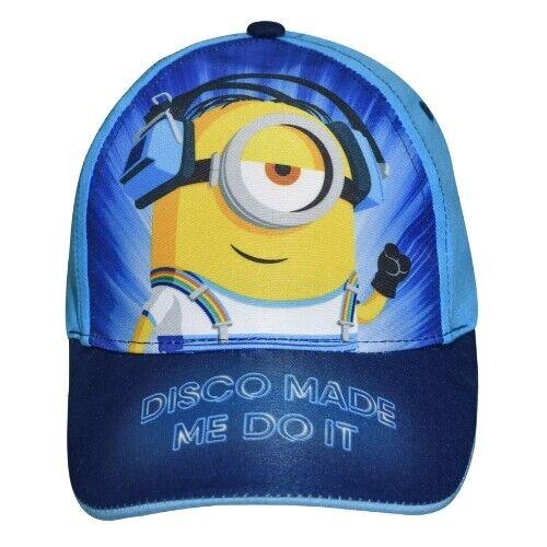 Universal mütze Minions Stuart junior Textil hellblau Größe 54