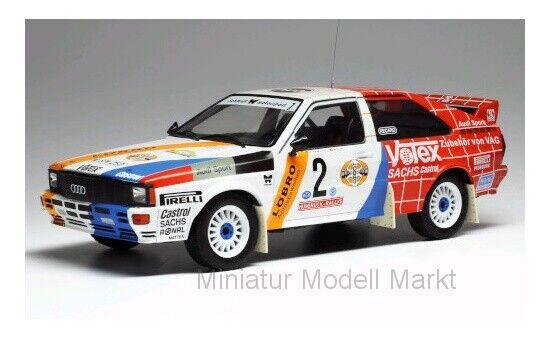 Rmc010 - Ixo Audi Quattro Hunsrück rally 1984-H. Demufh - 1 18