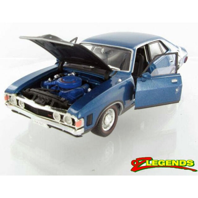 *NEW IN BOX* OzLegends Ford Falcon XA GT Sedan 1:32 Cosmic Blue
