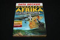 FLUGSAFARI AFRIKA DATA BECKER für Microsoft MS Flight Simulator 95 + 98 PC RAR