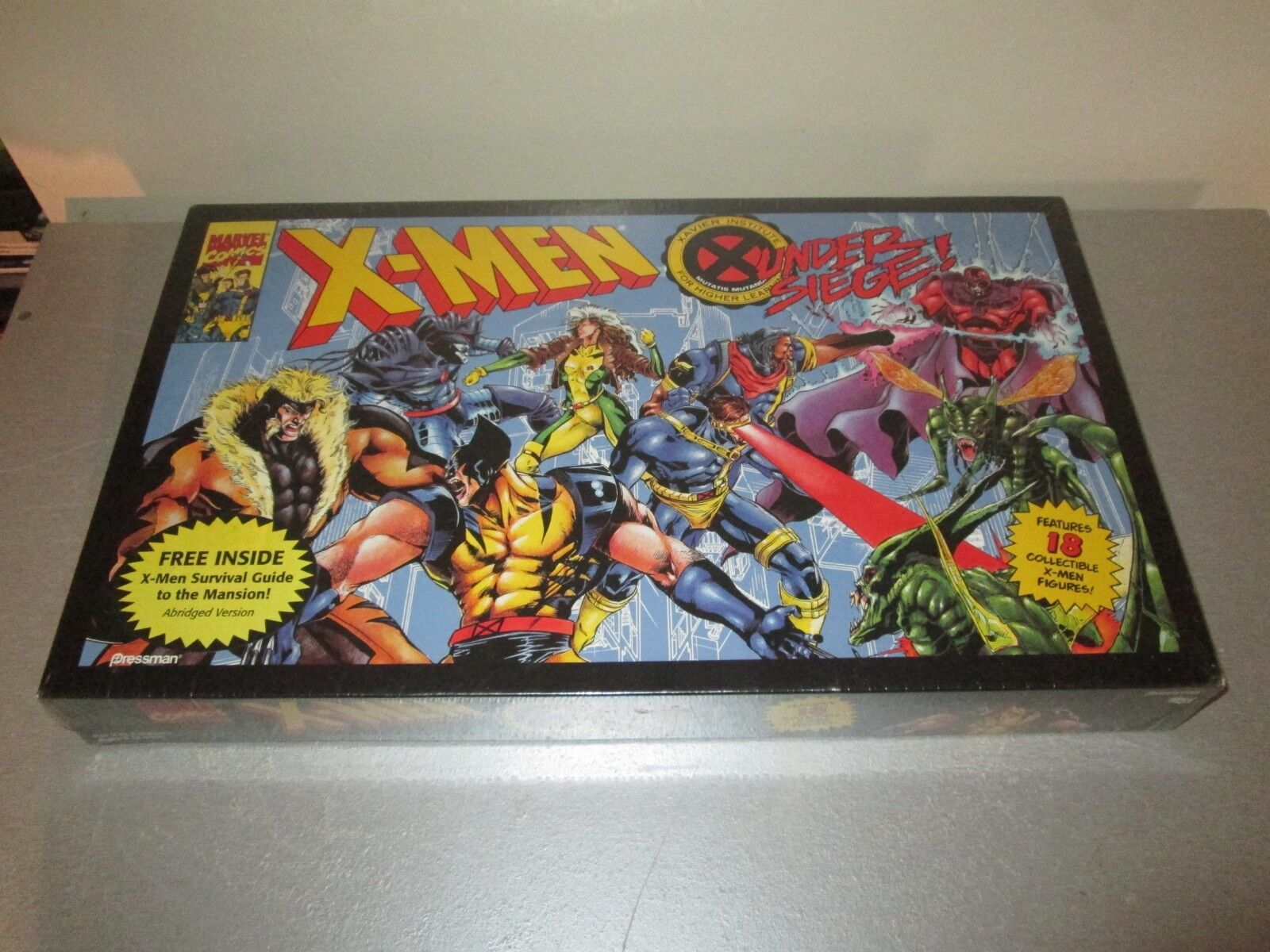 1994 X-Men sotto Assedio Gioco da Tavolo Nuovo Fabbrica Sigillato Raro