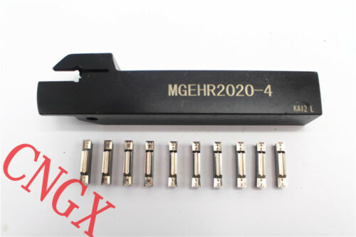 1P MGEHR2020-4C Grooving boring bar tool Holder CNC with10P MGMN400-M K01