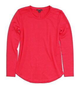 J-Crew-Mercantile-Women-039-s-M-NWT-Red-Supercomfy-Long-Sleeve-Tee