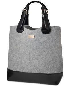 e350bc3e2e Image is loading HUGO-BOSS-Parfums-Grey-Tote-Bag-Shopping-Purse-