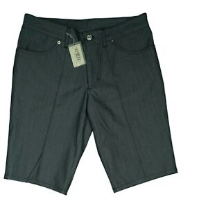 Drykorn Herren Jeans Hose kurze Short Sommer Bermuda Gr. 44 S W30 Grau Glanz NEU
