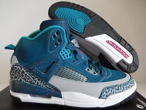 the latest 3a7d0 ce826 Image is loading NIKE-AIR-JORDAN-SPIZIKE-SPACE-BLUE-PINK-WOLF-