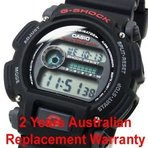 CASIO-G-SHOCK-DIGITAL-MENS-WATCH-DW9052-1V-BLACK-RED-2Y-WARRANTY-DW-9052-1VDR