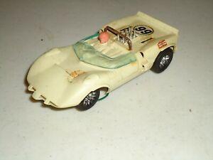 1/32 STROMBECKER CHAPARRAL  VINTAGE SLOT CAR RUNS AS-IS