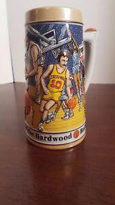 Basketball-Budweiser-Sports-Series-Stein-1991-Handcrafted-for-Anheuser-Busch
