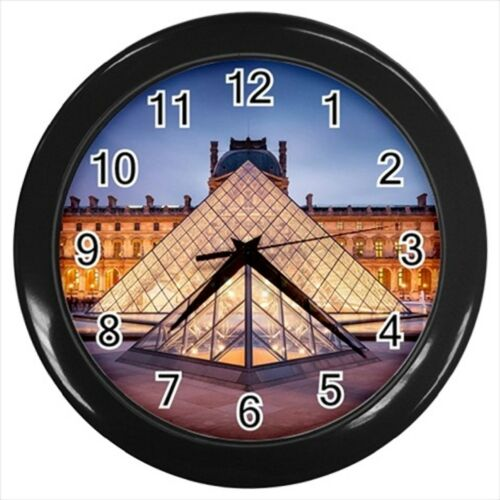 Louvre Paris France Wall Clock