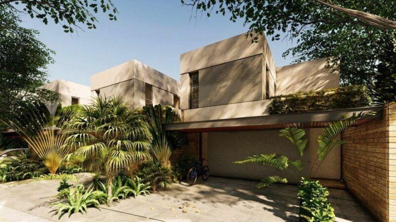 ULTIMO TOWN HOUSE EN PRIVADA S18, TEMOZON NORTE, DE 2 HAB, JUNIO 2020