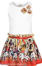Nuevo Jottum Soisy verano vestido vestido 110 116 4-6y dress robe s15 multicolor PVP 99 €