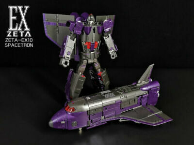 IN STOCK Transformers Zeta Toys EX-10 Spacetron Astrotrain Action Figure Popular