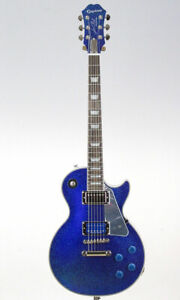 Epiphone Electric Guitar Tommy Thayer Electric Blue Les Paul Outfit
