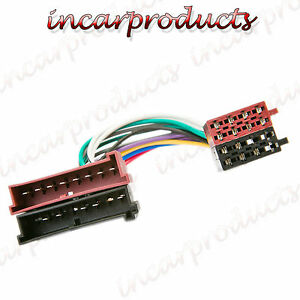ford transit 1997 iso radio wiring harness adapter lead. Black Bedroom Furniture Sets. Home Design Ideas