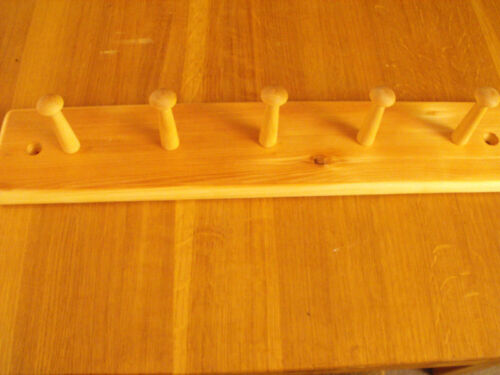 solid wood new stock shaker coat rack pine in natural pine many sizes new!!