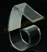 500 Large Table Skirting Skirt Clips | Clip Fits Table Edges 1.25 To 2.5 Thick