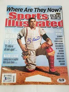 Yogi-Berra-Signed-Sports-Illustrated-Cover-July-2011-BAS-New-York-Yankees-HOF