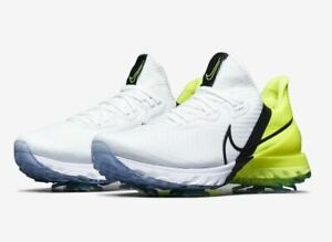 Nike Air Zoom Infinity Tour W(Wide) Men's Golf Shoes White Volt ...