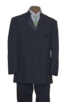 "100/% Wool Nehru Mandarin Collar /""XS/"" Tuxedo Coat Jacket Boy/'s//Youth"