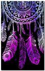 """Beautiful Dreamcatcher CANVAS ART PRINT spiritual Native Pink poster 24""""X18"""""""