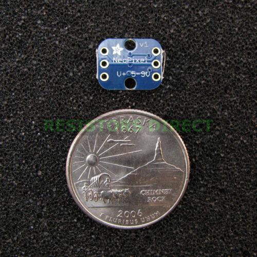 Adafruit Breadboard-friendly RGB Smart NeoPixel Pack of 4 G13