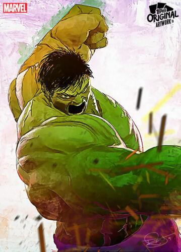 DIGITAL CARD Topps Marvel Collect HULK Daniel Murray Original Artwork #3