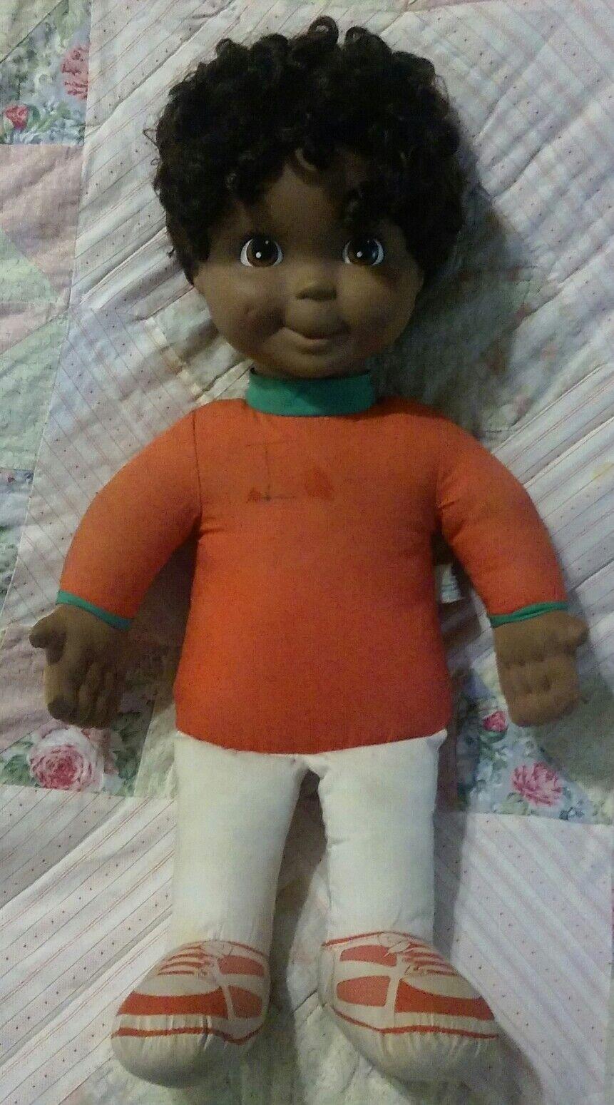 Vintage Playskool My Buddy Afrikanisch Amerikanische Spanier Junge Doll No