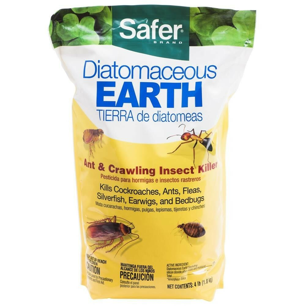 4 Lb Diatomaceous Earth Bed Bug Flea Ant Roaches Cricke