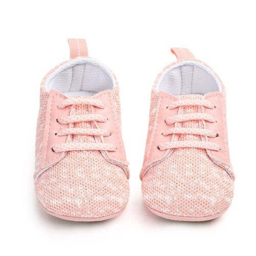 Unisex Newborn Toddler Baby Girl Boy New First Walkers Soft Cotton Sole Shoes L