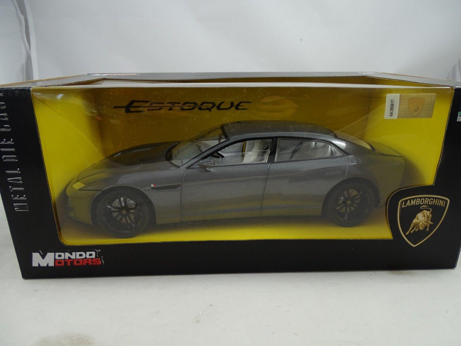 1:18 Mondo Motore - Lamborghini Estoque Antracite Metallico - Rarità §