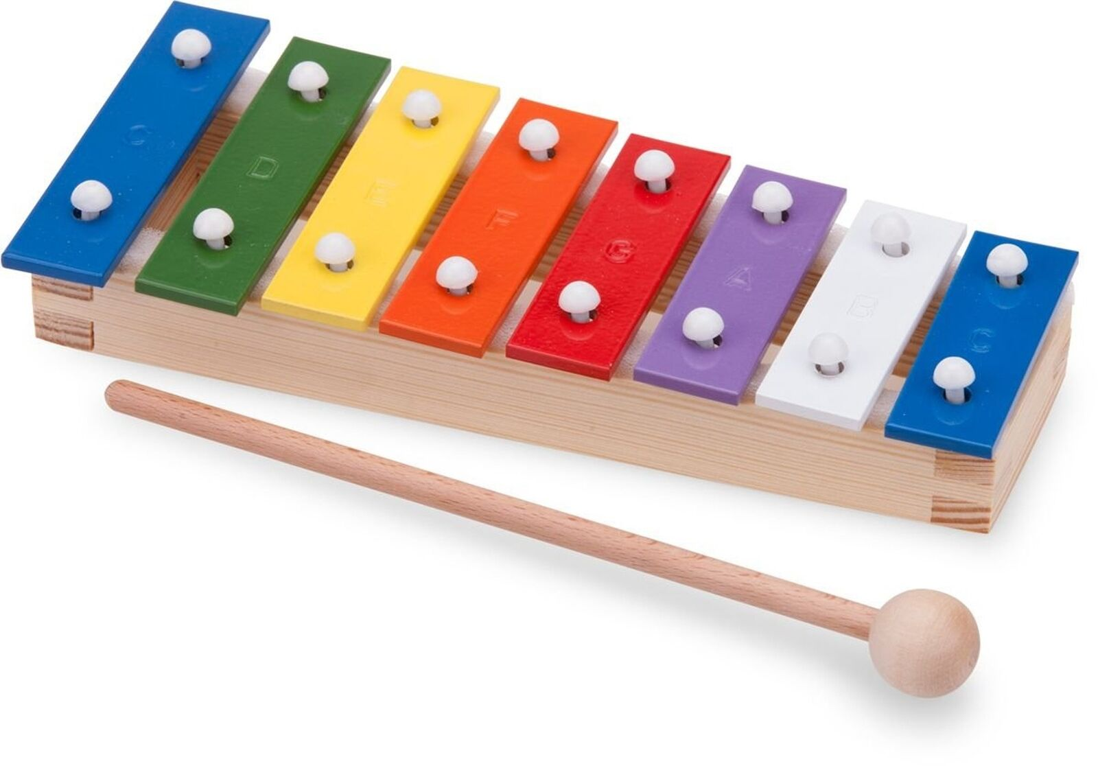 New Classic Toys - 10221 - Musical Toy Instruments - Metallophone with Music ...