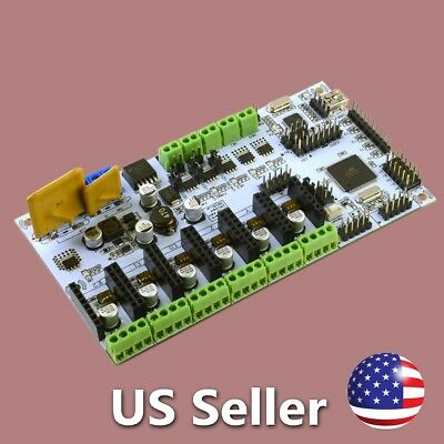 Reprap 3D Printer Controller Board RUMBA ATmega2560 for Prusa i3 Kossel