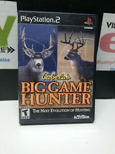 Cabela-039-s-Big-Game-Hunter-2005-Adventures-PS2-Playstation-2-Free-Shipping