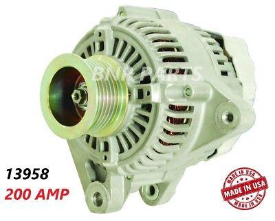 HIGH OUTPUT AMP ALTERNATOR Fits TOYOTA RAV4 CAMRY SOLARA HIGHLANDER TC 2.4L 250A