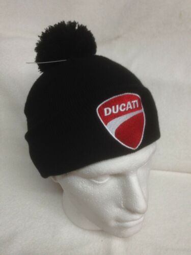 Woolly Turn Up Hats Beanies Bobble Hats Ducati Ducati Corse Motorcycles