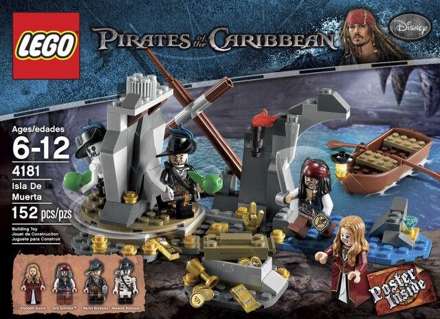 LEGO Pirates des Caraïbes 4181 - Isla de la Muerta - NEUF NEW, SCELLÉE SEALED