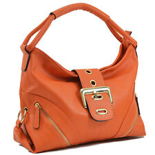 New Dasein Women Leather Hobo Satchel Shoulder Bag Tote Handbag Travel Day Purse