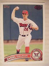 DANIEL TILLMAN RC 2011 Topps Pro Debut baseball card 21 BREWERS FLORIDA SOUTHERN